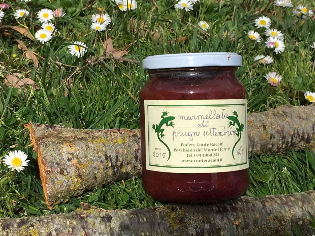 Bio products Marmelade Podere Conte Ràcani