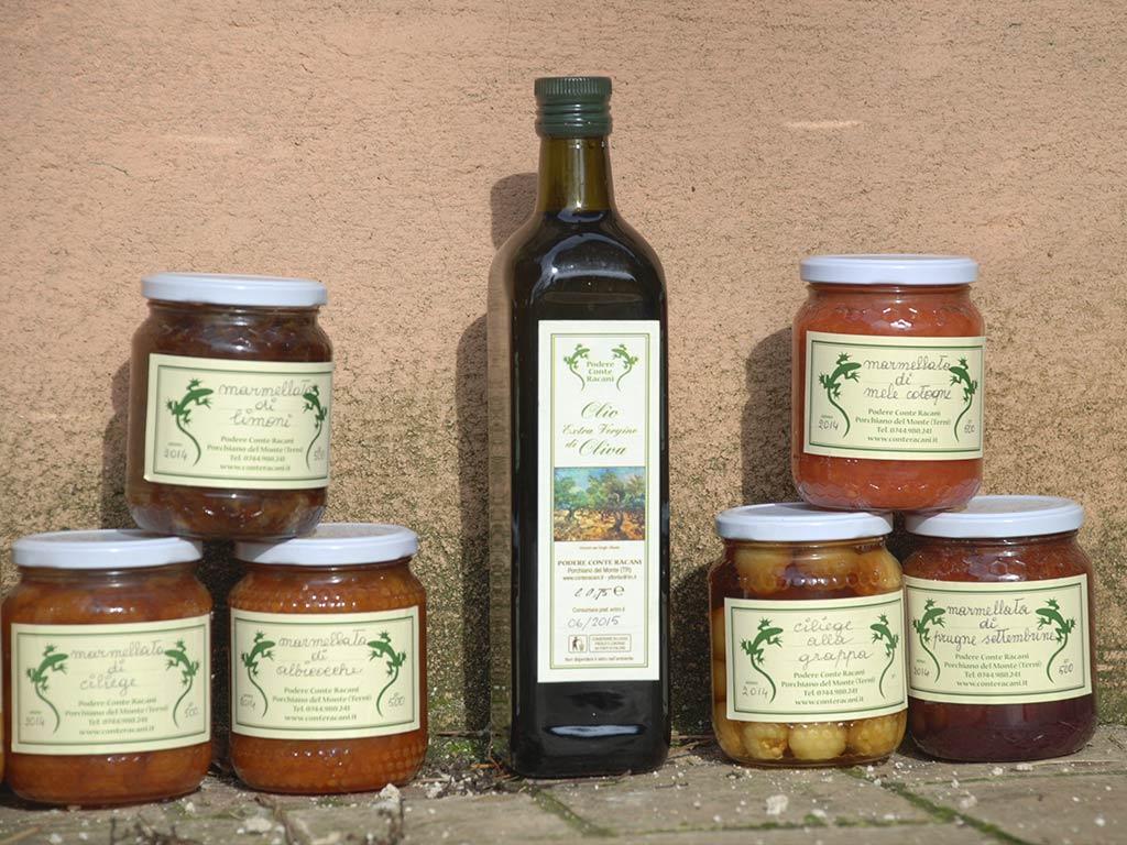 Bio products @Podere Conte Ràcani