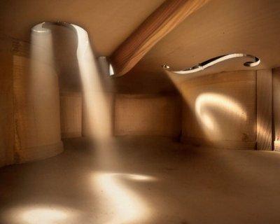 Inner violin hall - Podere Conte Ràcani